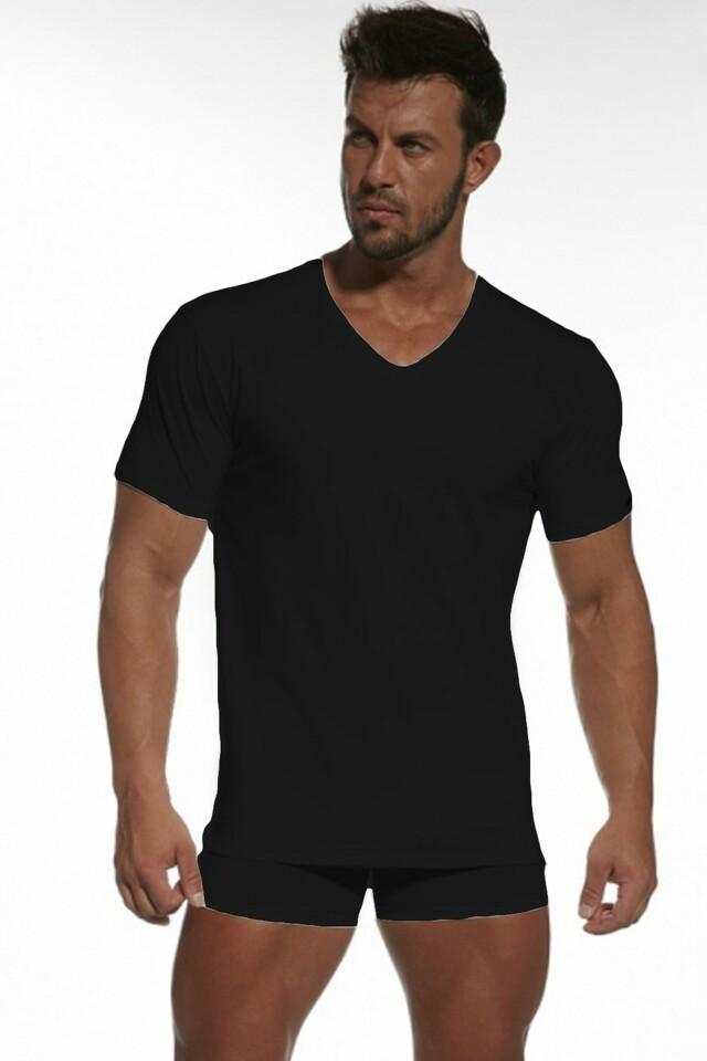 Pánské tričko Authentic 201 black