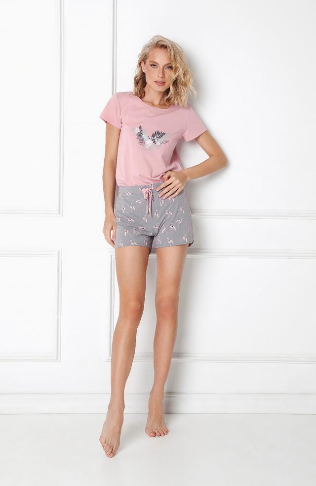 Dámské pyžamo Aruelle Felicia Short kr/r XS-2XL - L