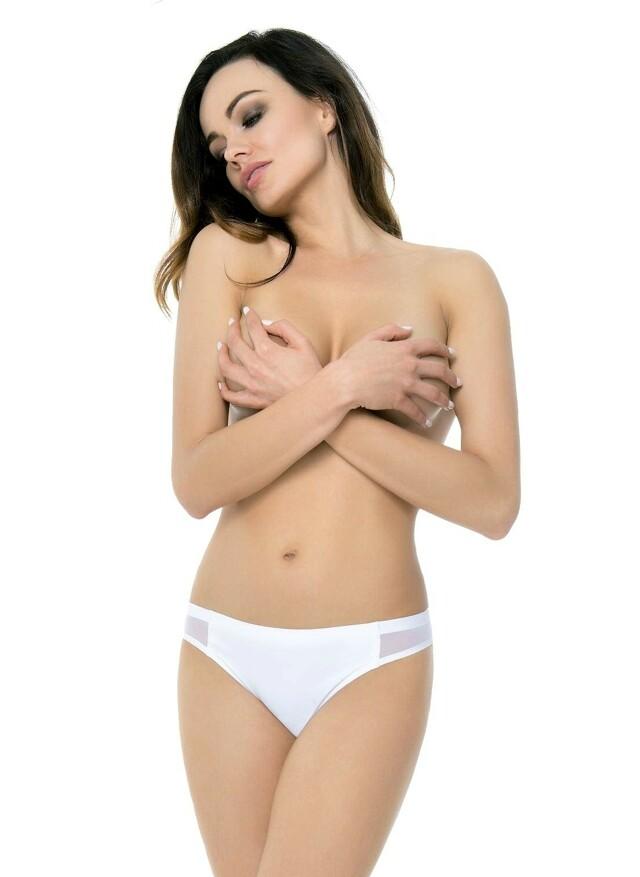 Klasické kalhotky Julimex Bikini Panty - XL - bílá