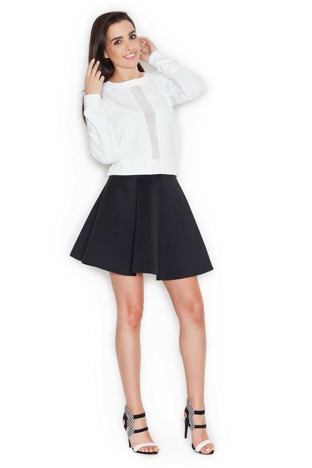 Dámská sukně K268 black - M - černá