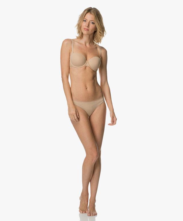 Podprsenka balkonová QF1833E tělová - Calvin Klein - 75D - tělová