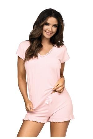Dámské pyžamo Agnes - Donna - L - růžová
