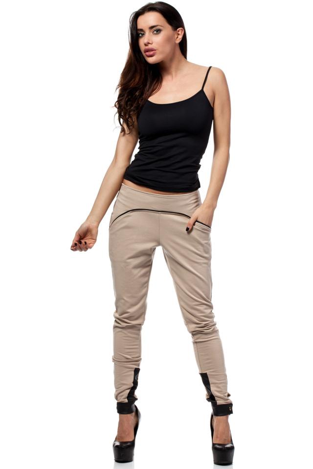 Teplákové kalhoty model Moe 157 - 42 - ecru