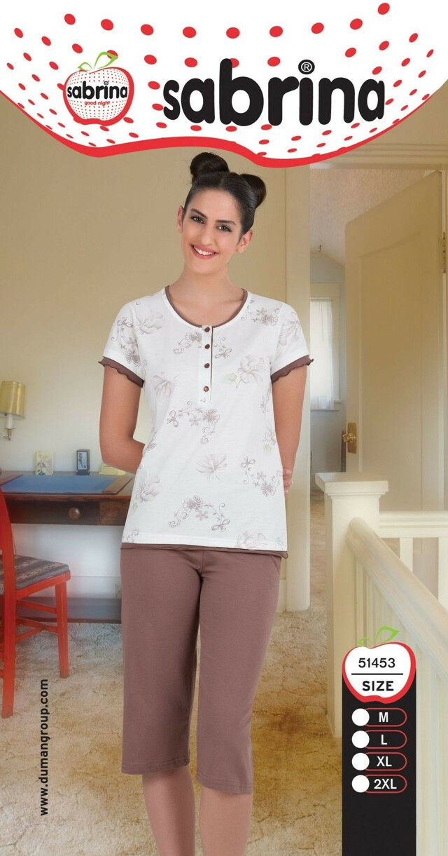 Dámské pyžamo 51453 Sabrina