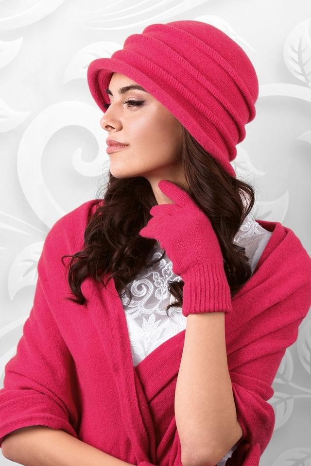 Dámský klobouk model 164402 růžová - Kamea - uni - růžová