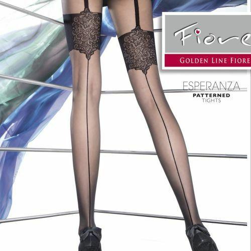 Punčochové kalhoty Fiore Esperanza 20 den - 2-S - černá