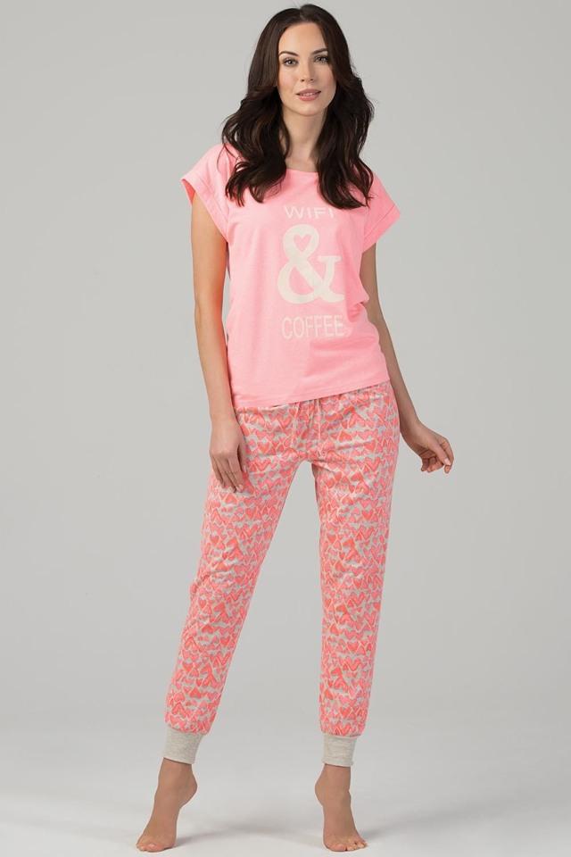 Dámské pyžamo Rossli SAL-PY-1102.I - S - růžová