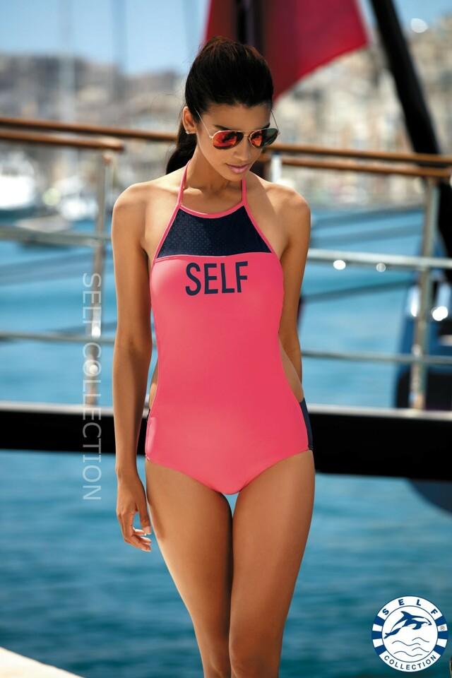 Dámské jednodílné plavky S45 - Self