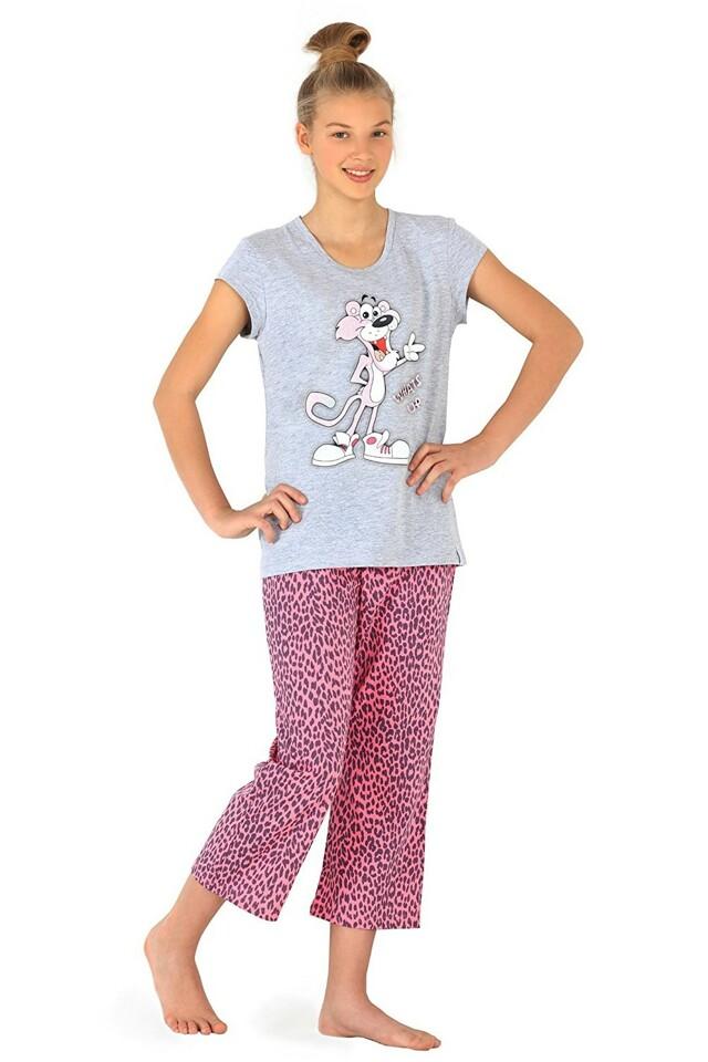 Dívčí pyžamo 556/17 Panther grey
