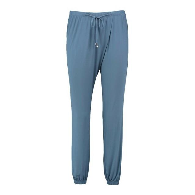 Dámské pyžamové kalhoty QS5683E - Calvin Klein - S - modrá