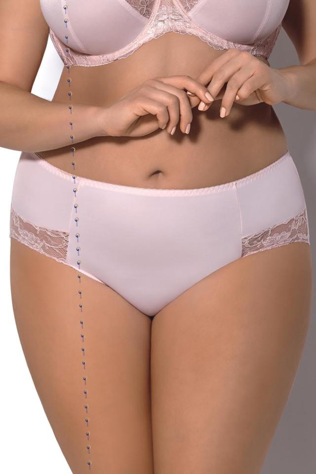 Dámské kalhotky Gorsenia K328 Ellen - XL - růžová