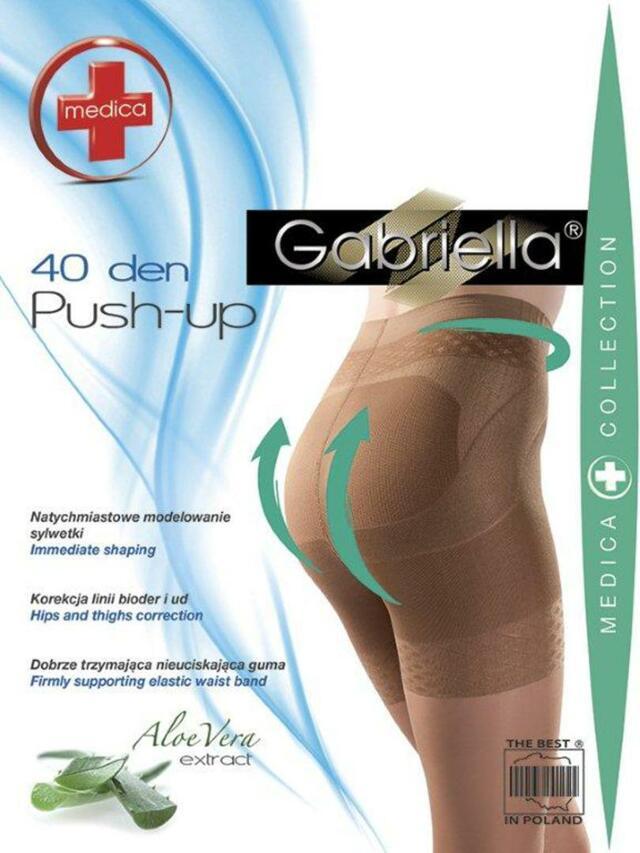 Tvarovací punčochové kalhoty MEDICA PUSH UP 40 - GABRIELLA