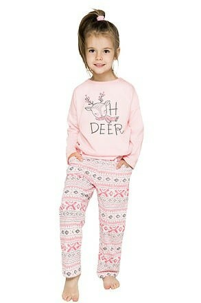 Dívčí  pyžamo Sofinka lososové