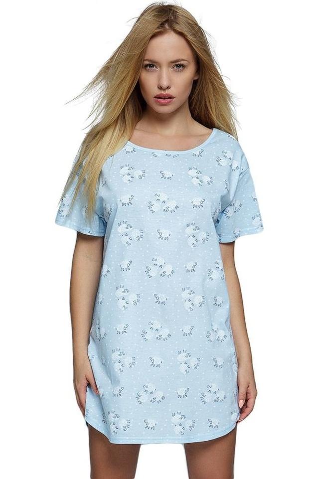 Triko na spaní Blue Sheep modré - onesize