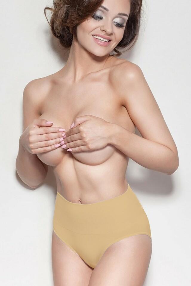 Dámské stahovací kalhotky Ona beige - XL - béžová
