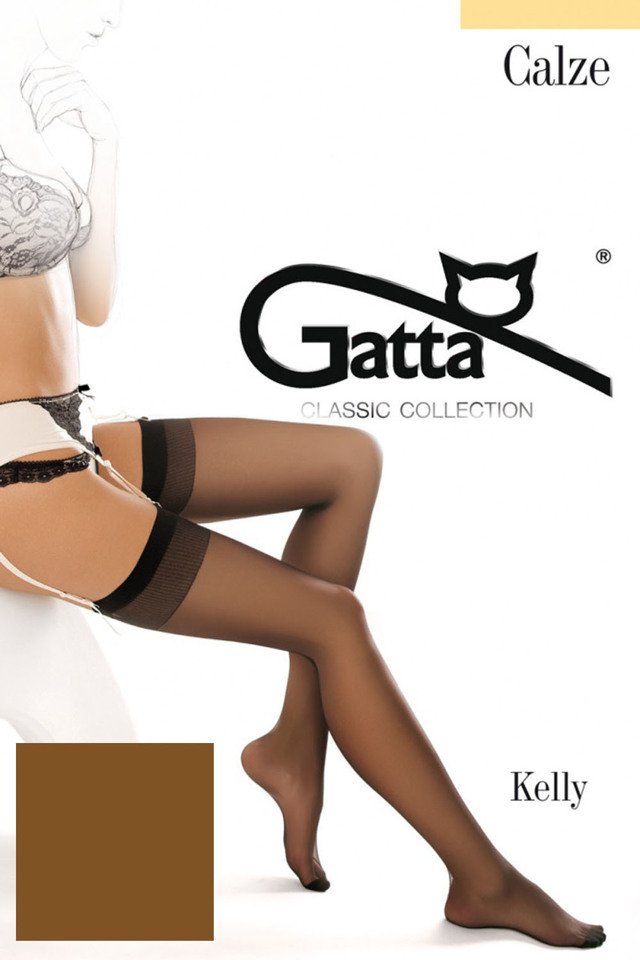 Dámské punčochy Gatta Kelly - 1-2 - visone