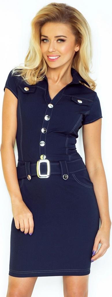 Dámské šaty 142-2 - Numoco - M - černá