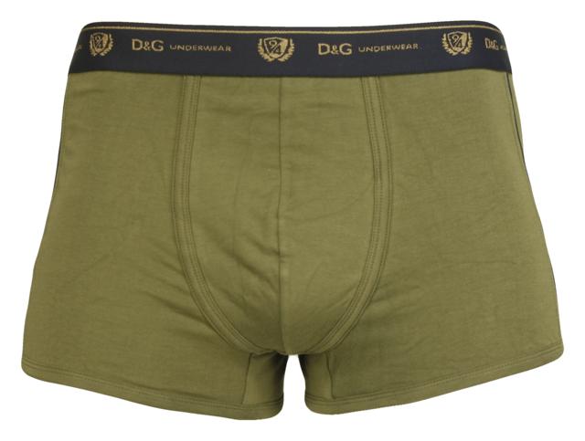 Pánské boxerky M30847 - Dolce Gabbana - XL - khaki