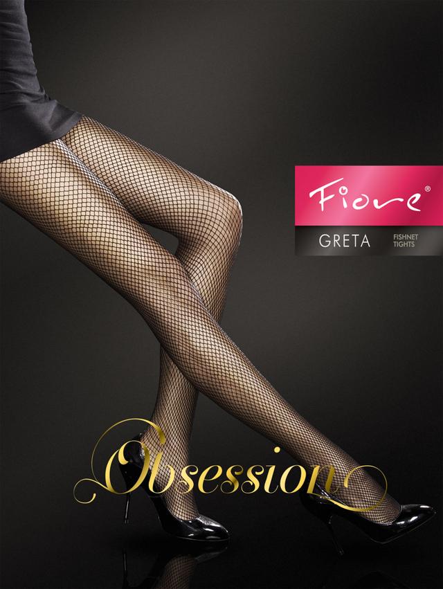 Dámské punčochové kalhoty Greta O5000 - FIORE - - BÍLÁ