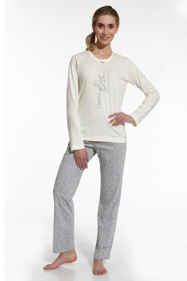 Dámské pyžamo 655/39 So delicate - XL - béžová