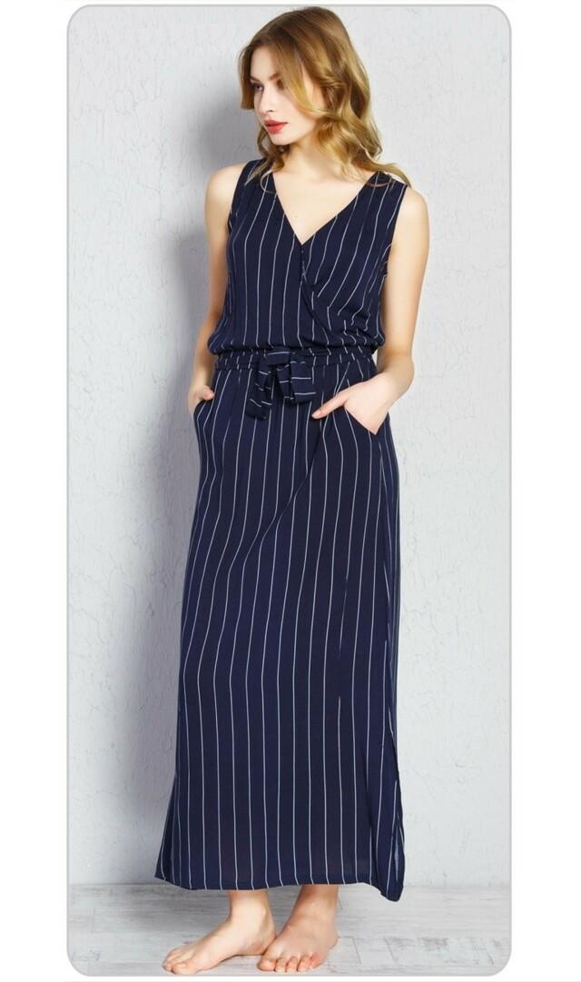 Dámské šaty Alena - tmavě modrá S