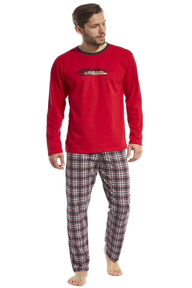 Pánské pyžamo 124/87 Display 2 - M - červená
