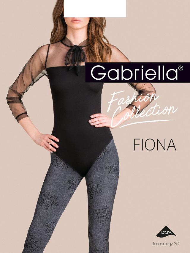 Dámské punčochové kalhoty Gabriella Fiona 3D 443 2-4 - 3-M - žíhaná e574e43bf1