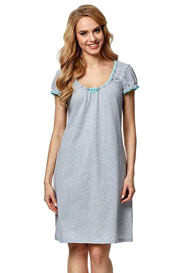 Noční košile Dorita II melange-pistachio - M - viz foto