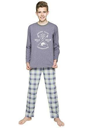 Chlapecké pyžamo Franta šedé Extreme sport - 152