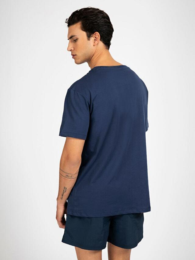 Pánské tričko - F0BI00K8HM0 - D780 - Guess - L - tmavě modrá