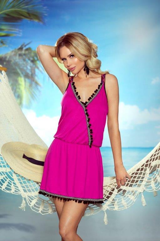 8ffc14f13077 Dámská plážová tunika Eldar First Lady Summer Jessica - L XL - černá