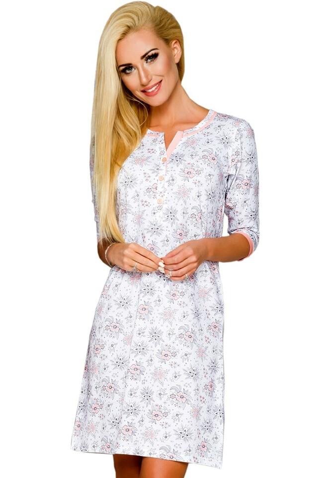 Noční košile Fabia 2123 pink - L - viz foto