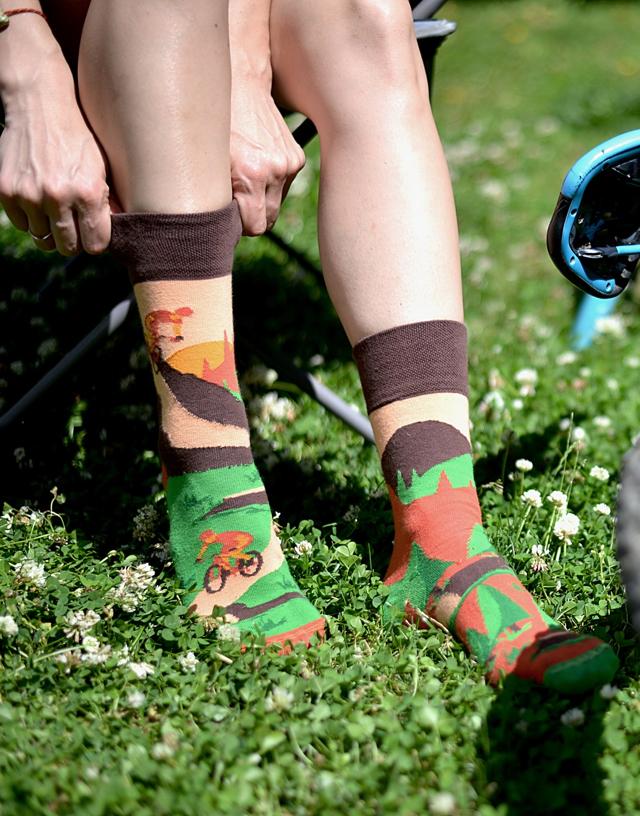 Ponožky Spox Sox - Jízdní kola - 36-39 - multikolor