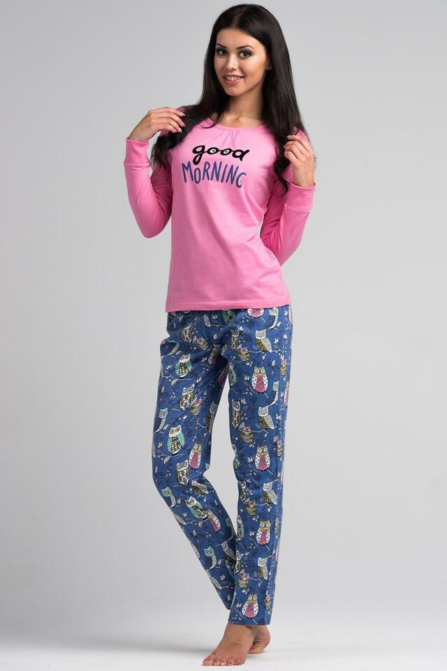 Dámské pyžamo Rossli SAL-PY 1019 - XL - sv.růžová