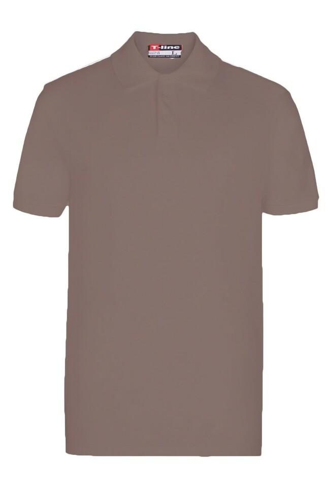 Pánské tričko 19406 coffee