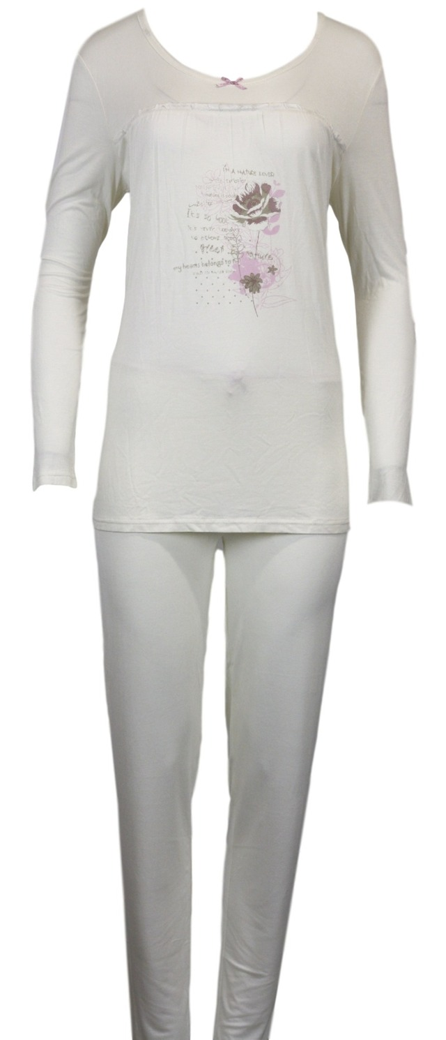 Dámské pyžamo 73736 - Gattina - 42/44 - vanilka
