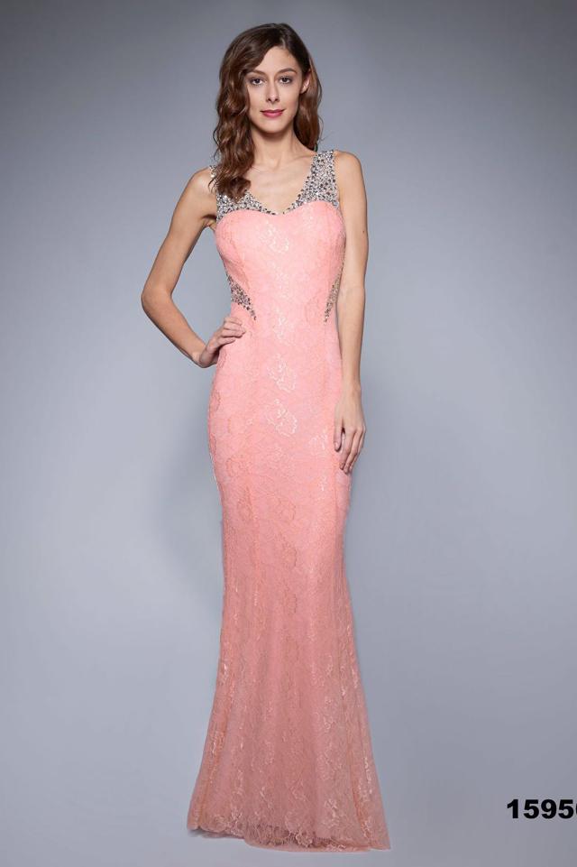 086f9e28c486 Růžové šaty SOKY SOKA 48001-1 - XL