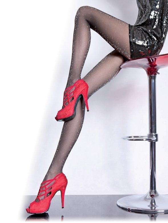 Dámské punčochové kalhoty Fiore Veronica G 5122 20 den - 2-S - černá