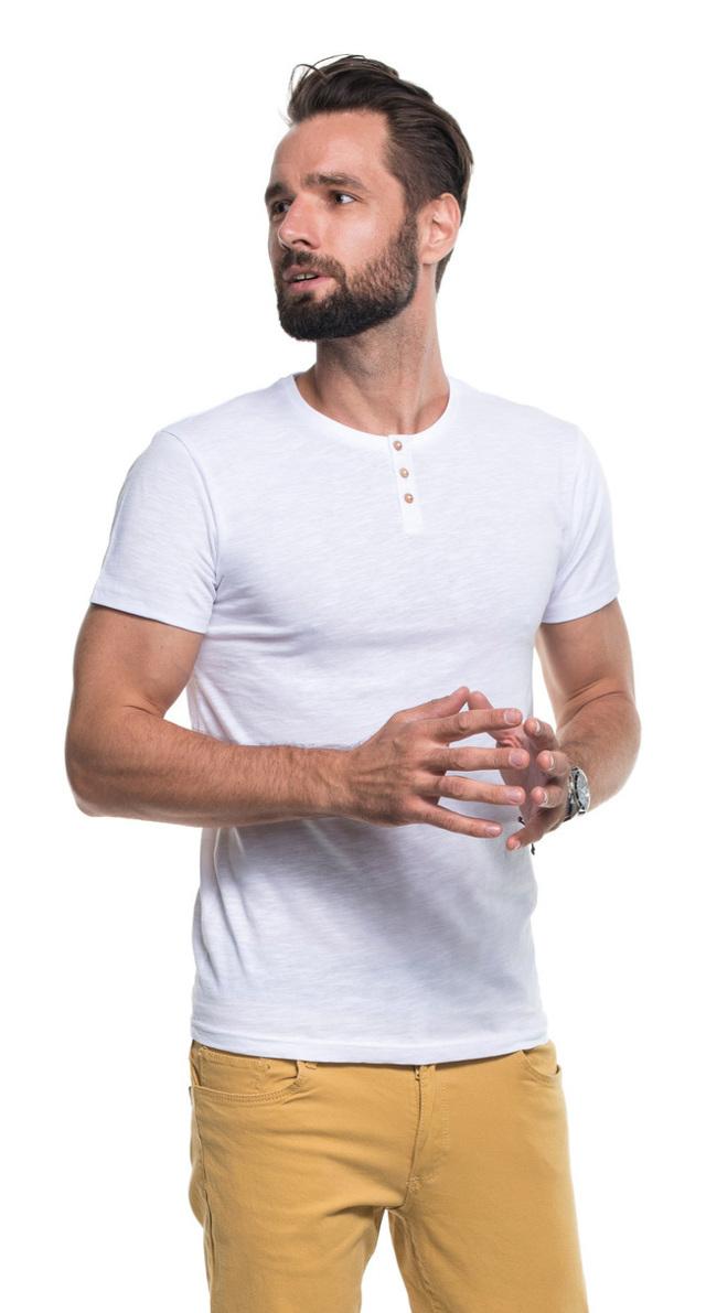 Pánské tričko M BUTTON1 21230 - PROMOSTARS