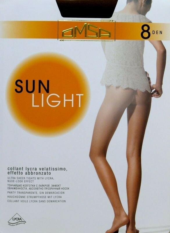 Punčochové kalhoty Omsa| Sun Light 8 den