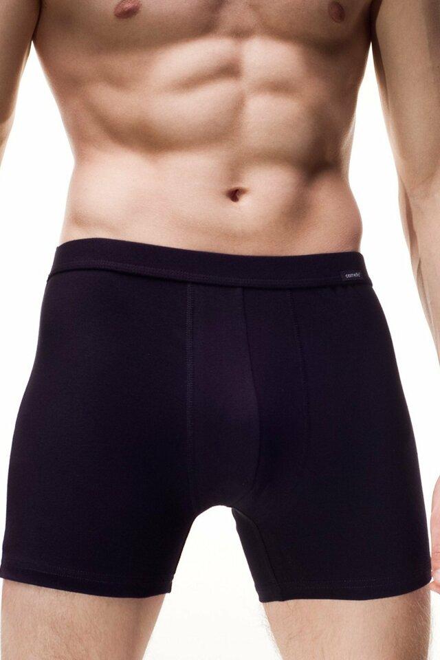 Pánské boxerky Authentic 220 black - XL - černá