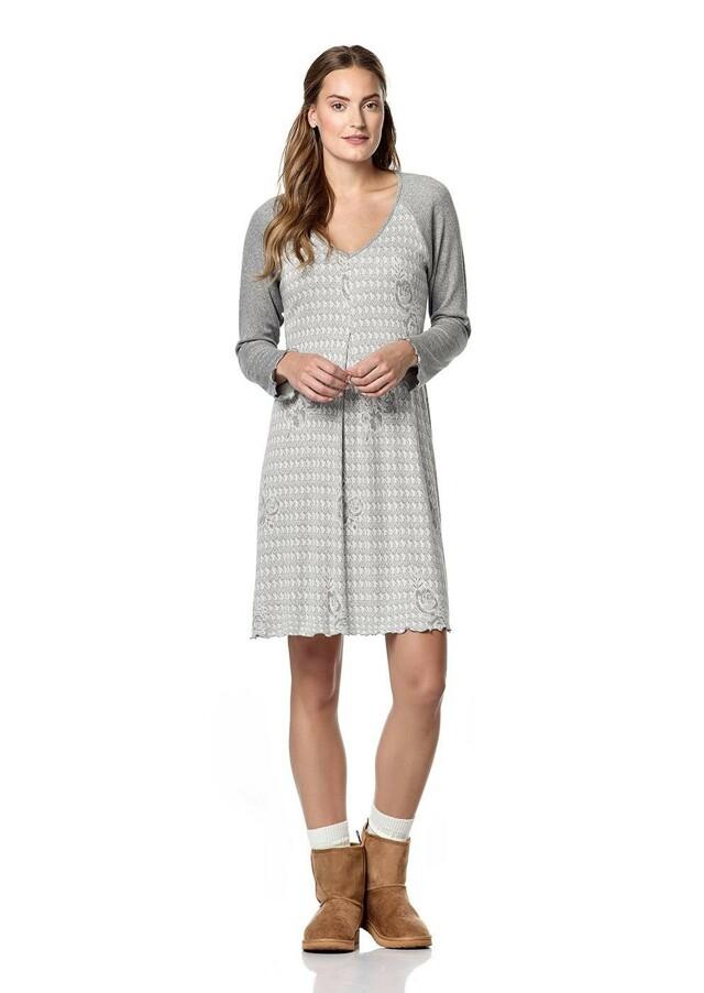 Dámská noční košile 10-4846 - Vamp - L - šedá