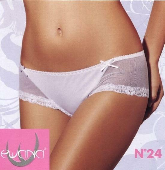 Kalhotky N.24 - Ewana - M - černá