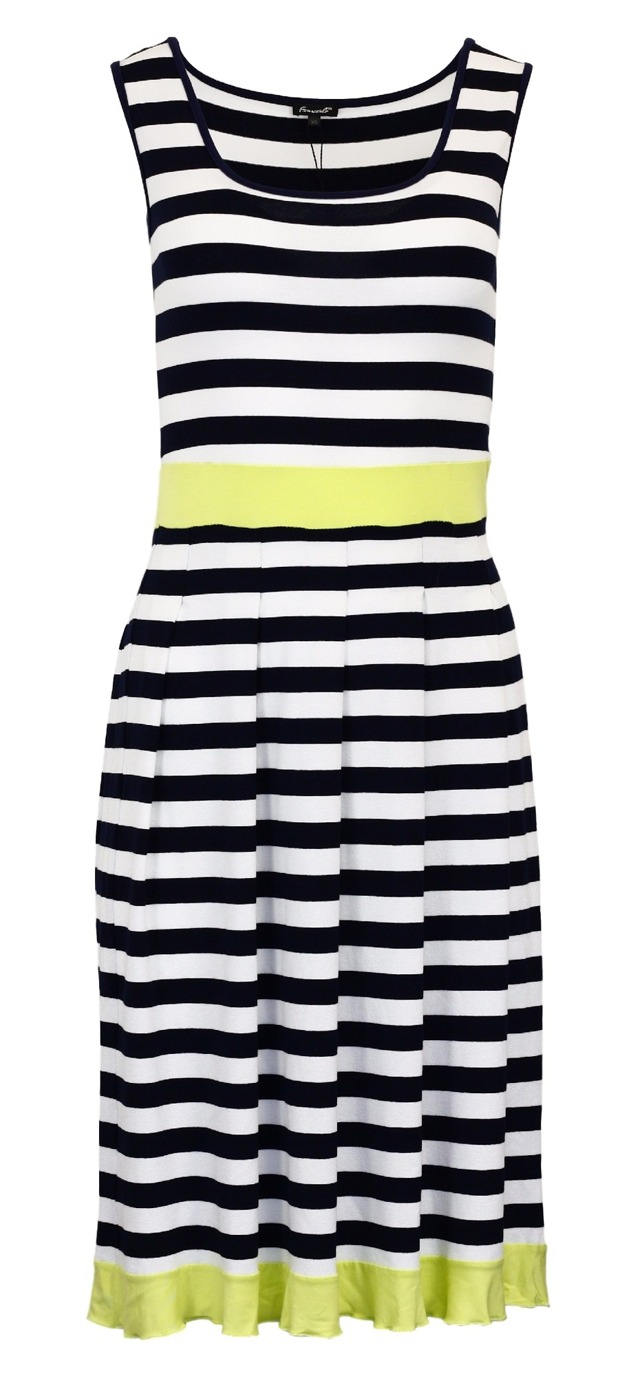 Dámské letní šaty Lana Mod Essed - Favab - XS - námořní pruhy