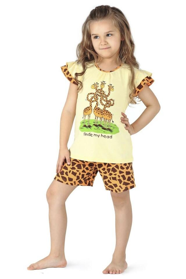 Dívčí pyžamo 787/23 Giraffe