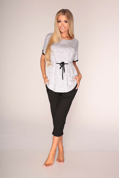 Pyžamo De Lafense 316 Jacqueline kr/r 3XL-4XL