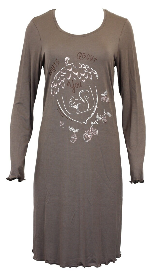 Dámská noční košile 10-5147 - Vamp - M - béžová