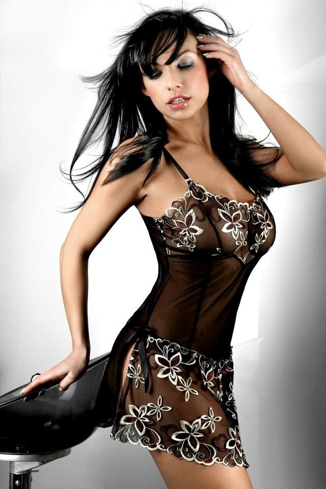 Erotická košilka Hera - S/M - viz foto