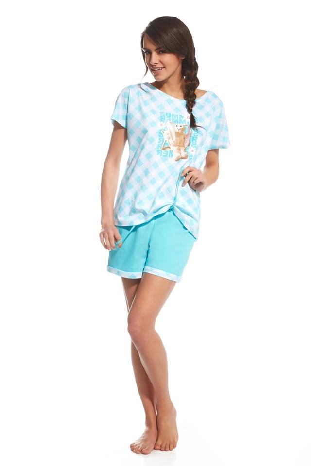 Dámské pyžamo 675/69 Rabbit - M - tyrkysová