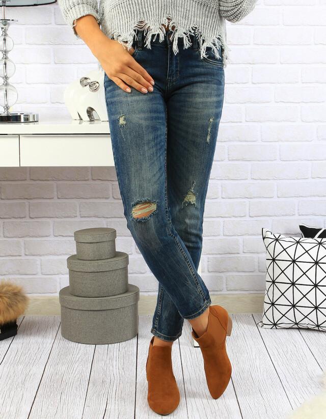 Dámské džínové kalhoty (uy0057) - R.Display - 34 - jeans